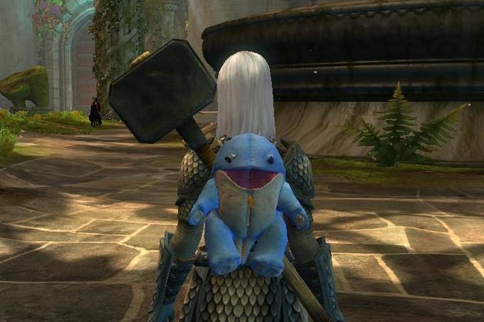 Quaggan is mighty warrior!